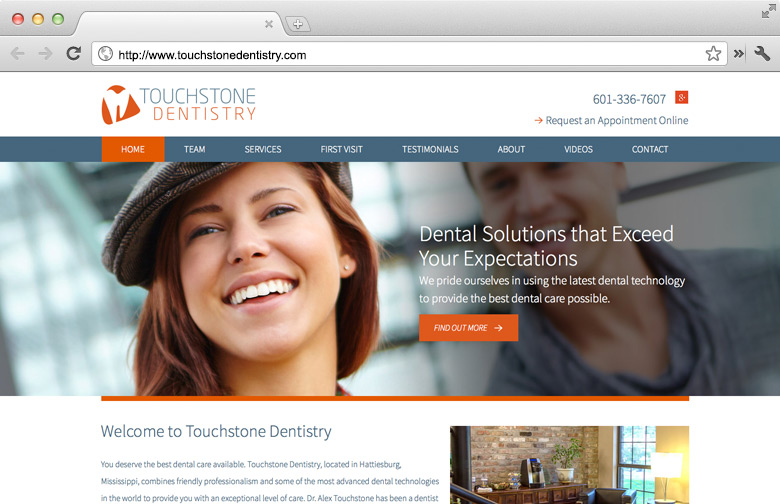 Dental Websites | Optio Publishing Inc.